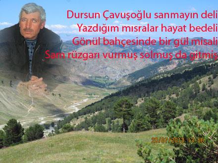 şiir çavuşoğlu